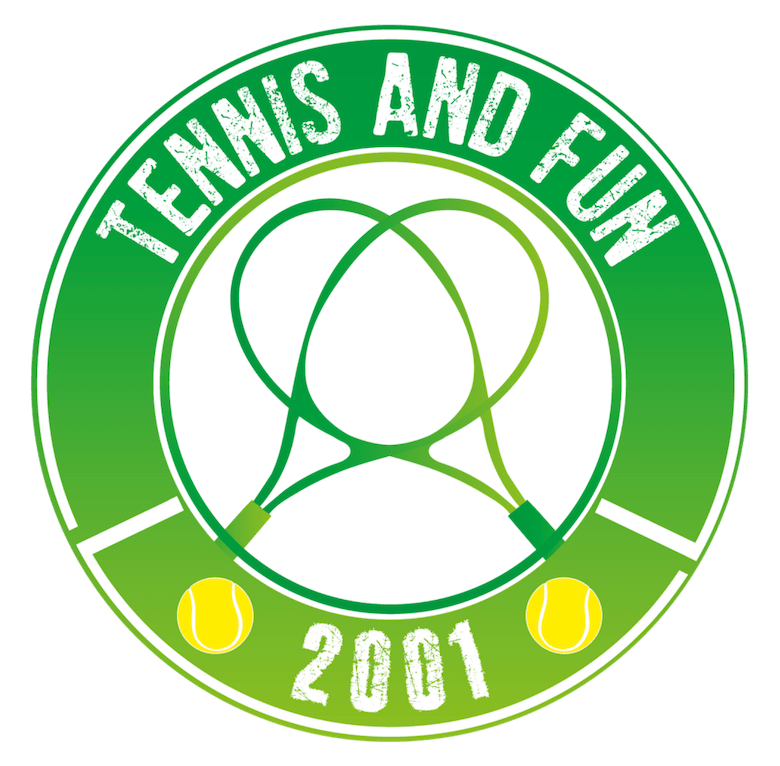 logo tennis and fun
